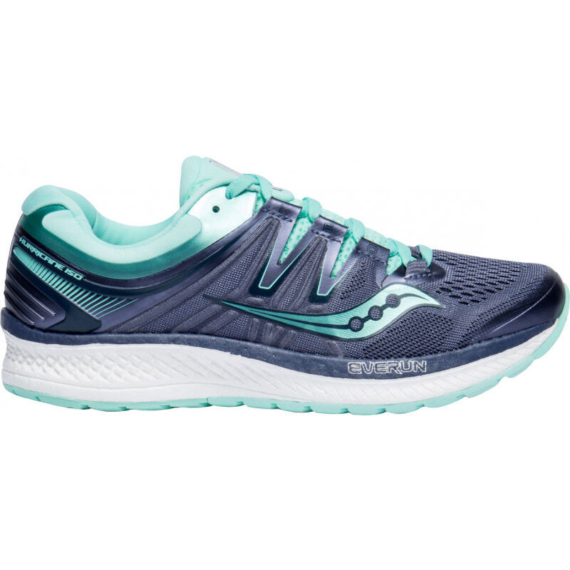 Para mujer Saucony Hurricane ISO 4 Mujeres Tenis para Correr-gris