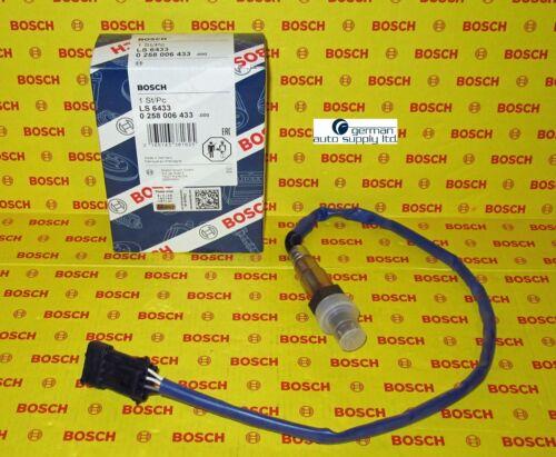 Porsche Oxygen Sensor BOSCH 0258006433 NEW OEM O2 16433
