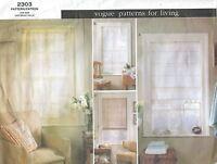 Vogue 2303 Sheer Shades Sewing Pattern