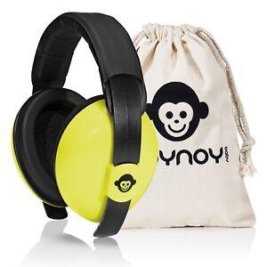Gehörschutz Baby 0-2 Jahre | Baby Ohrenschützer Lärm | Lärmschutz Baby gelb
