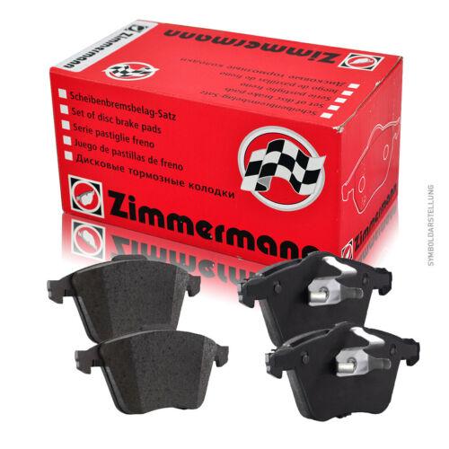 3H Zimmermann Bremsbeläge für PEUGEOT 307 SW vorne