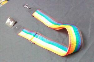 New-Perri-039-s-Leathers-Rainbow-Adjustable-Guitar-Strap-NWS20I-1816