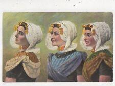 Zuid Beveland Netherlands Vintage Postcard 027b