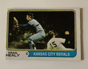 1974-Fran-Healy-238-Topps-Baseball-Card-Kansas-City-Royals-KC
