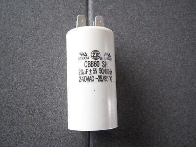 400 VDC METALLIZE CAPACITOR CBB60   20uF  250 VAC