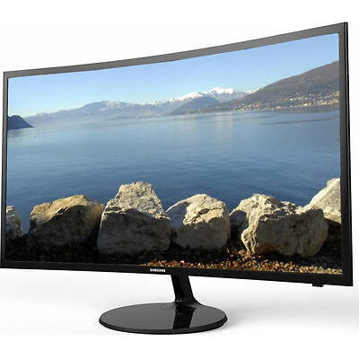 """SAMSUNG V24F39S Smart 24"""" Full HD 1080p Curved LED TV Black with Freeview HD"""