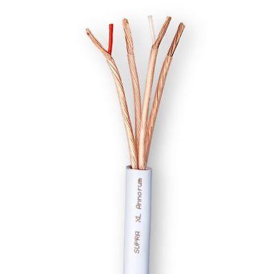 Supra Xl Annorum Speaker Cable Per Metre Punctual Timing