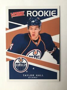 Details About 2010 11 Victory Taylor Hall Rookie Card 350