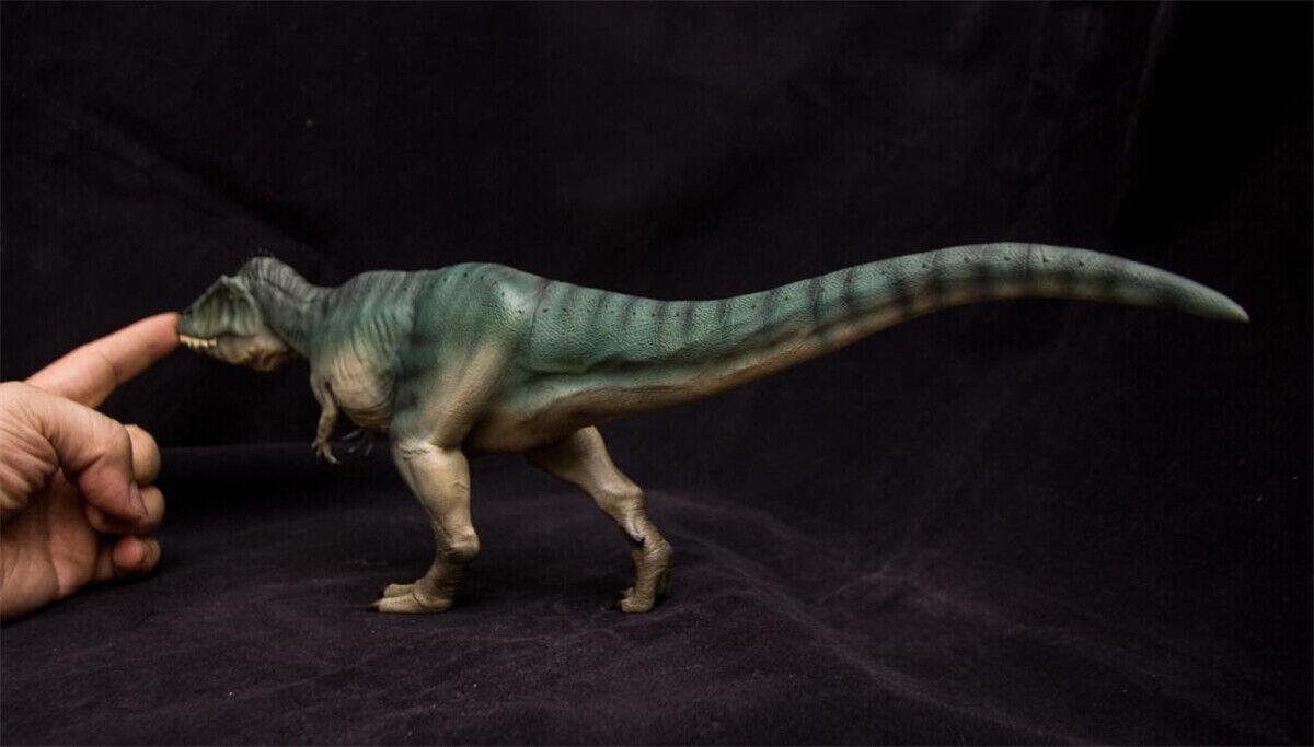 1 1 1 35 Carcharodontosaurus Statue Model Dinosaur Figure Collector Decor 2 Coloreeees e9fcad