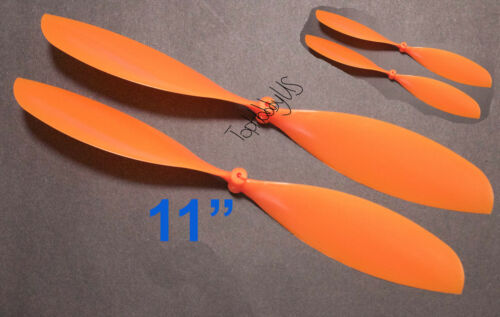 """4pcs 4x11/"""" ø1.4mm Rubber Band Powered Plane Air Plane Propellers, US SELLER"""
