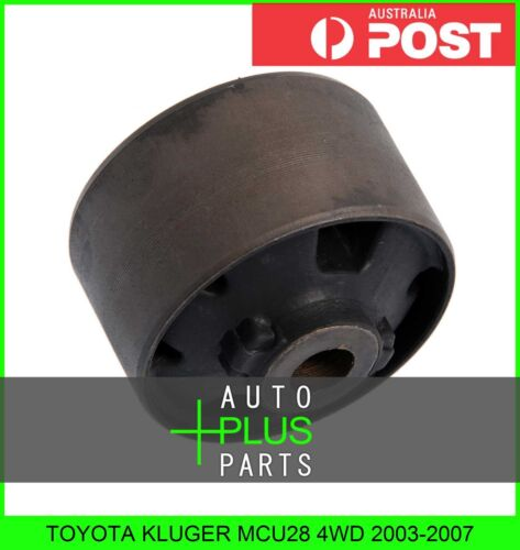 Fits TOYOTA KLUGER MCU28 4WD Rubber Bush Diff Differential Mount Mounting