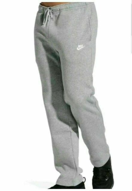 Nwt NEW Nike POCKETS Mens Therma Fleece Open-Bottom Sweat Pants Large L XL