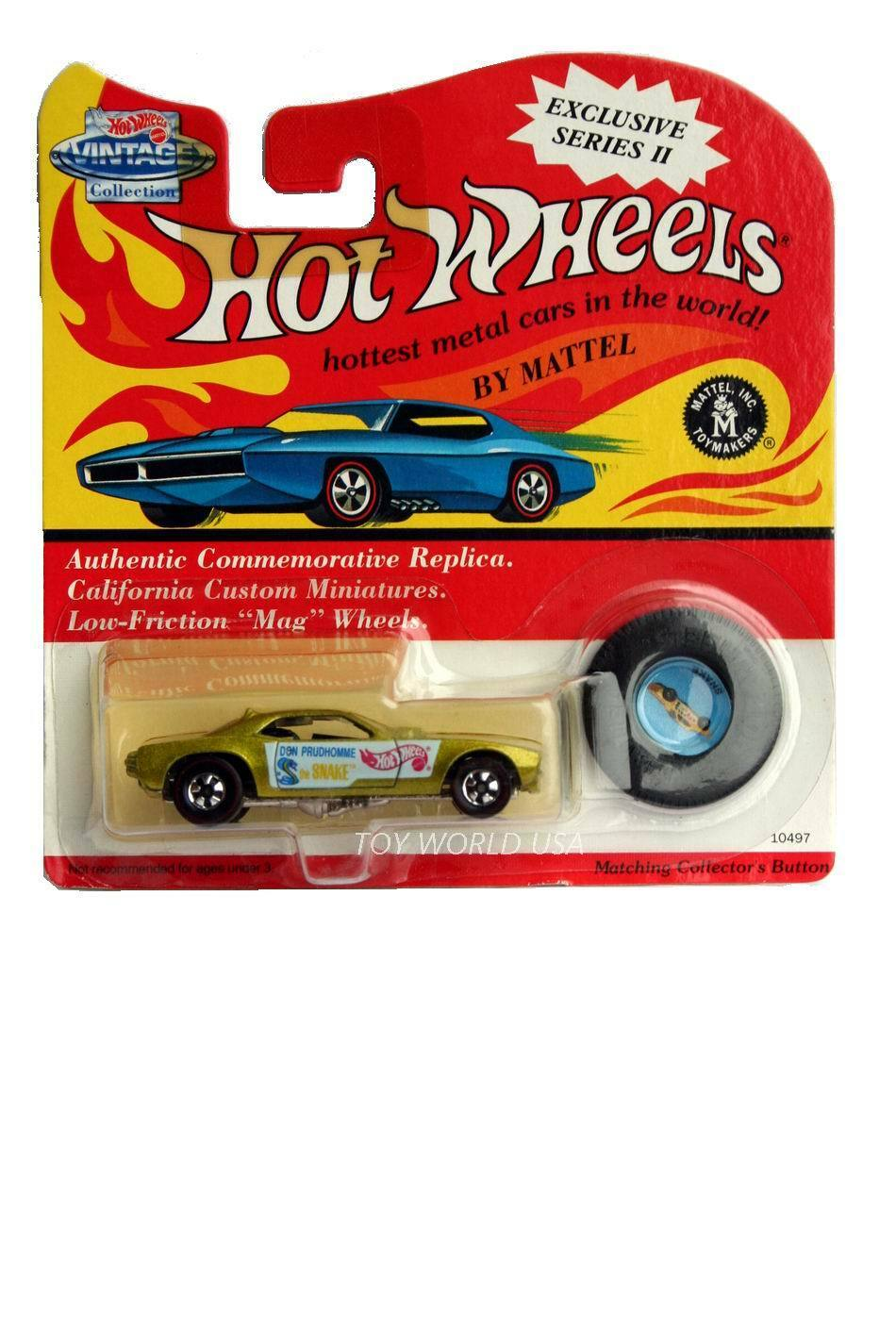 Blue Twin Mill Hot Wheels Redline Vintage 25th Anniversary Series 1993 Lt
