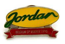 Pin Spilla Scuderia Jordan - Belgium GP Winner 1998