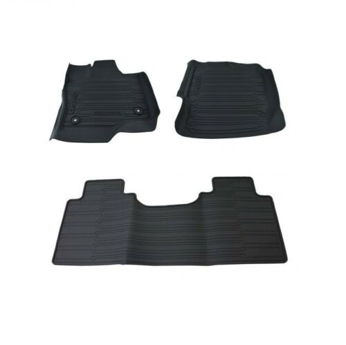 HL3Z1813300AA OE 2015-2018 Ford F-150 ALL WEATHER Floor Mats SUPERCAB 3-PC BLK