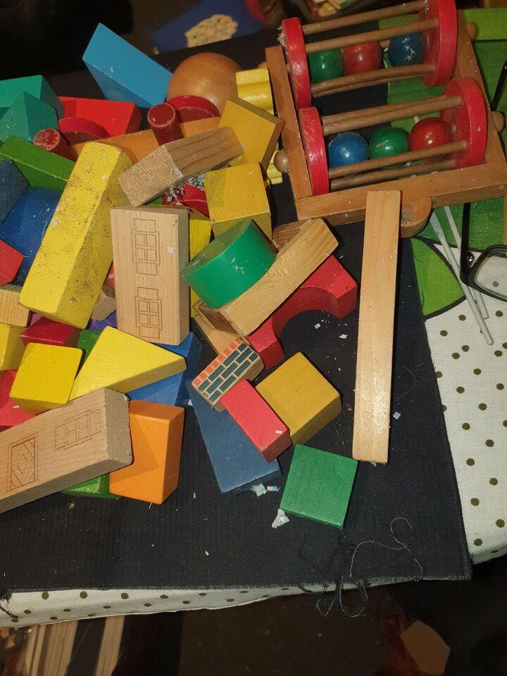 Andet legetøj, Træ klodser, ?