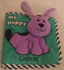My Puppy Lamaze Book Baby Newborn Toddler Plush Stuffed Animal Toy