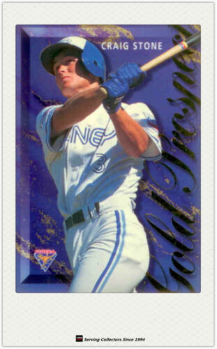 1995 Futera Australia Baseball Card ABL Gold Prospects Card GP1 Craig Stone