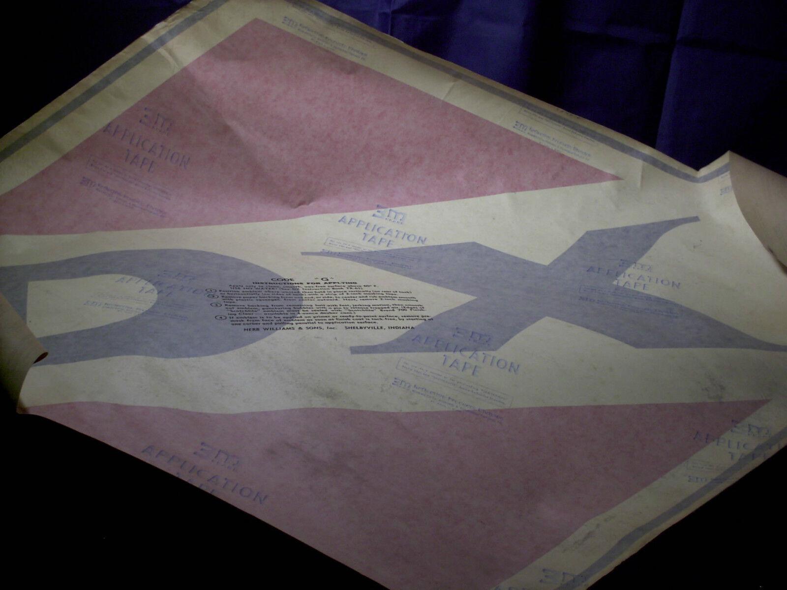 Muy Grande Antiguo D-x pegatina