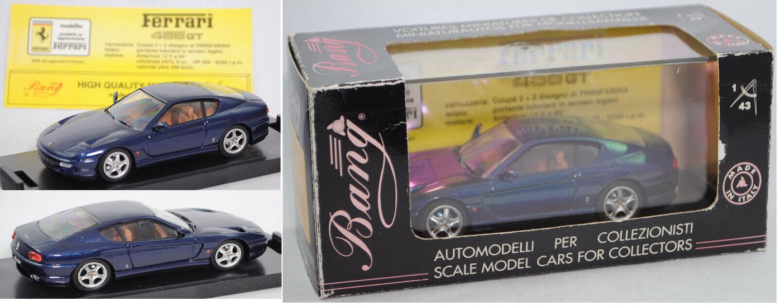 Revell 8015 Ferrari 456 GT (Design  Pininfarina), blue, 1 43