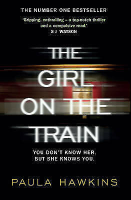 1 of 1 - The Girl on the Train by Paula Hawkins (Paperback, 2015)
