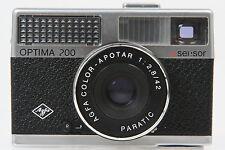 Agfa Optima 200 sensor mit Color Apotar 2,8/42mm Objektiv #HR6350AY
