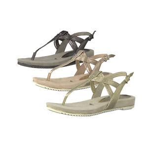 Details zu Tamaris 1 28107 22 Damen Sandalen Zehentrenner Sandaletten