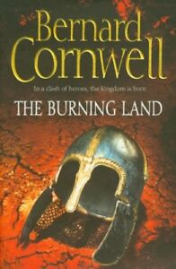 The-Burning-Land-by-Cornwell-Bernard-Book-The-Fast-Free-Shipping