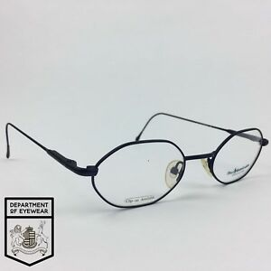 a8206472b619 Image is loading NEW-RALPH-LAUREN-EYEGLASS-BLUE-POLYGON-FRAME-Authentic-