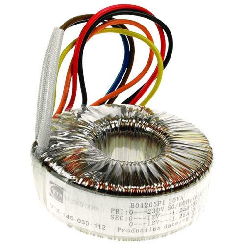 160va transformadores toroidales distintas gamas sembrados se suministra con fijación Kit