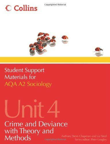 1 of 1 - Student Support Materials for Sociology - AQA A2 Sociology Unit 4: Crime and D,