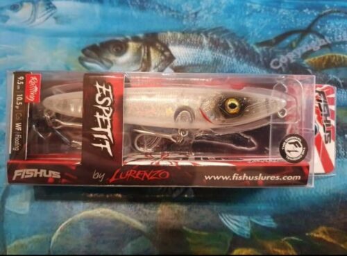Fishus Espetit 95mm 10.5g Floating Topwater Bass Lure