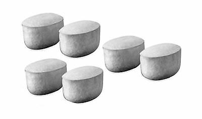 WWF-6 Fits Mr Coffee Coffee Makers 6 Pack Replacement Charcoal Water Filters