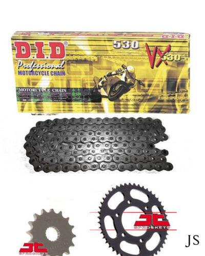 Yamaha MT-01 5YU 2005-2011 DID VX X-Ring Chain /& Sprocket Kit