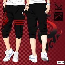 Hot Anime K return Of Kings Cool Man Cosplay Shorts Pants Cropped Trousers M-2XL