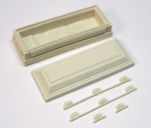 1:18 scale model resin open casket funeral hearse 1//18