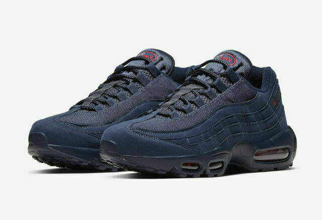 Size 10 - Nike Air Max 95 SC Jewel Navy Blue for sale online | eBay