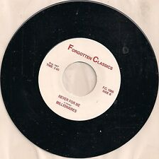 The Millionaires-Never For Me b/w Shy One(Shirley Ellis) 45  Import