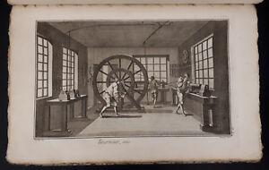Enciclopedie-Diderot-1751-1772-Tourneur-et-Tour-a-Figure-tornitore-87-Tavole