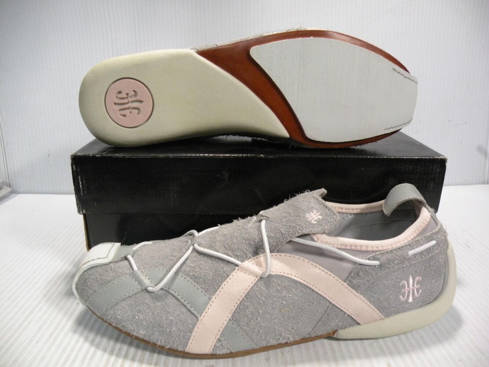 ROYAL ELASTICS LADECH LOW SUEDE WOMEN Schuhe PINK/GREY 9325025 SIZE 11 NEW