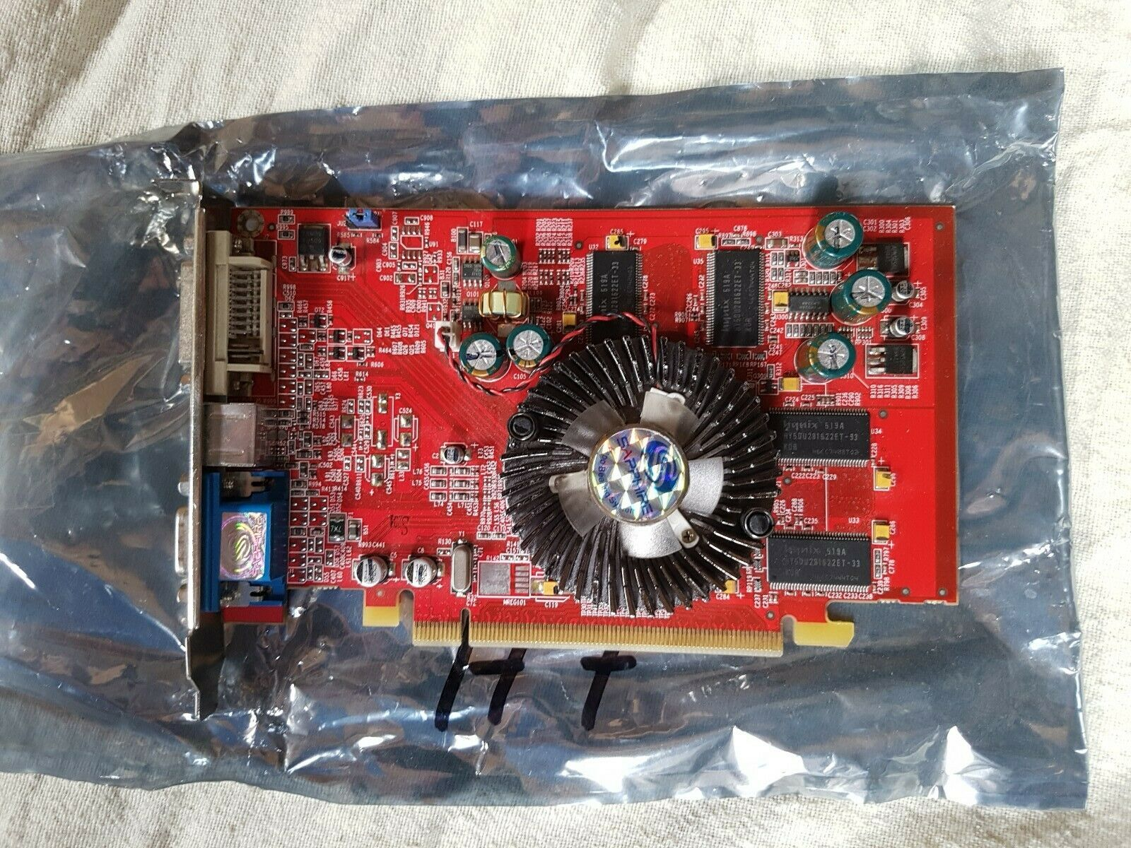 Sapphire Radeon X550 Graphics Card PCIe