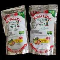 2 Pk - Nopalina Flax Seed Plus Fiber Formula Contains Omega 3, 6, & 9 - 16 Oz.