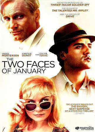 The Two Faces of January (DVD, 2015) Dunst