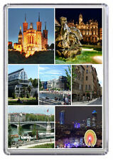 Lyon France Fridge Magnet 01