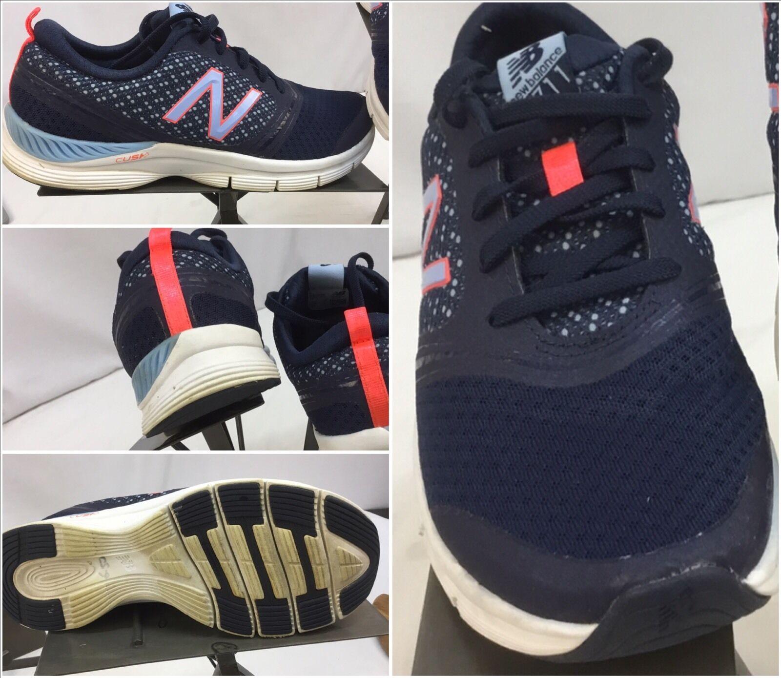 New Balance 711 Sz 7.5 Women bluee Purple Running shoes Mint YGI M