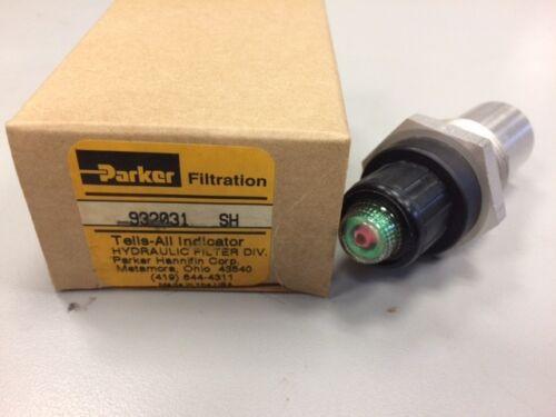 Parker Hannifin Filter Indicator 932031