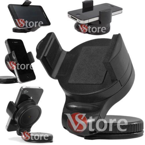 Supporto X Auto Porta Cellulare Navigatore Telefono Universale A Ventosa Camion