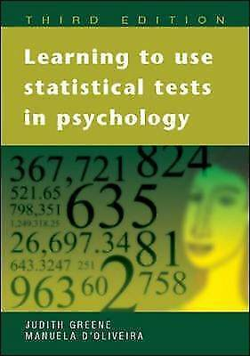 Learning to Use Statistical Tests in Psychology (Hardcover)