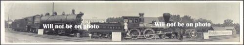 3-7 FT long PANORAMIQUE photo Old West antique train vintage photo Minnesota