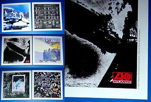 LED-ZEPELLIN-6-PROMO-Lithographs-20-5-cm-x-20-5-cm-collectible-art-prints